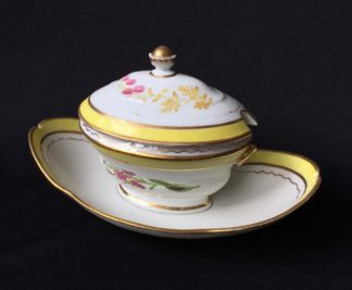 French porcelain tureen, decorated by Billingsly at Brampton, c. 1805 -0