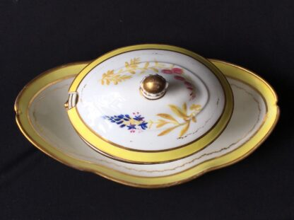 French porcelain tureen, decorated by Billingsly at Brampton, c. 1805 -20428