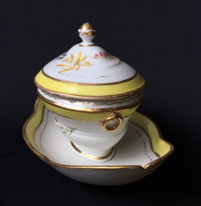 French porcelain tureen, decorated by Billingsly at Brampton, c. 1805 -20435