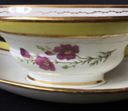 French porcelain tureen, decorated by Billingsly at Brampton, c. 1805 -20434
