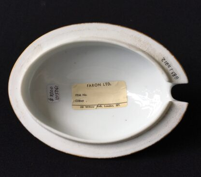 French porcelain tureen, decorated by Billingsly at Brampton, c. 1805 -20438