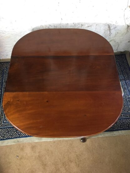 Georgian Mahogany padfoot dropside table, circa 1760 -25365