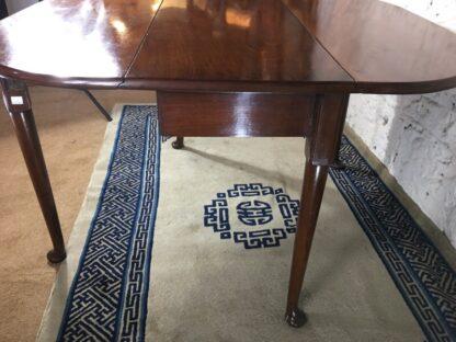 Georgian Mahogany padfoot dropside table, circa 1760 -25364