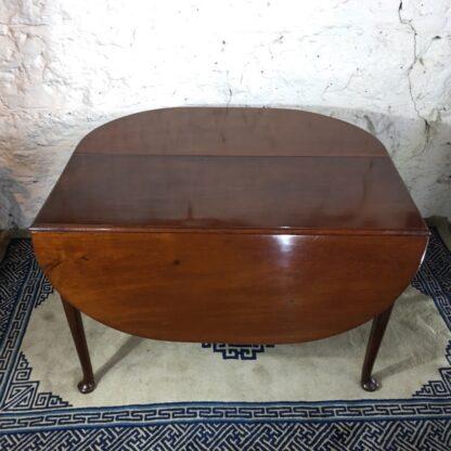 Georgian Mahogany padfoot dropside table, circa 1760 -0
