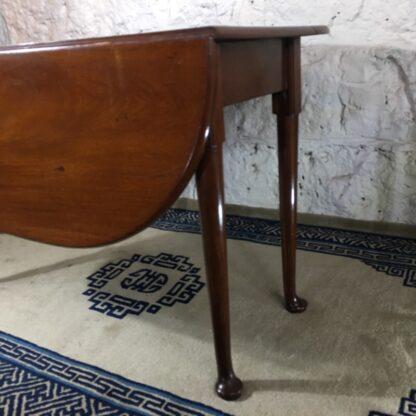 Georgian Mahogany padfoot dropside table, circa 1760 -25369