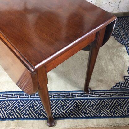 Georgian Mahogany padfoot dropside table, circa 1760 -25373