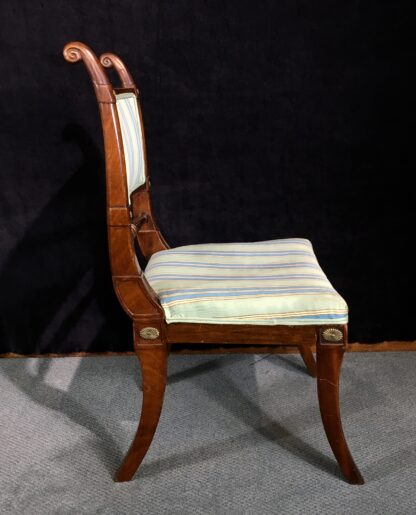 Regency mahogany chair, ormolu mounts, c.1815 -19485