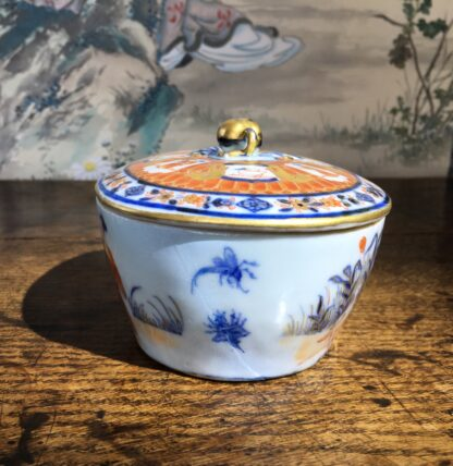 Chinese Export butter tub, Pronk Chinoiseries , c. 1745 -22277