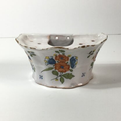 French Faience bough pot, c. 1760-0