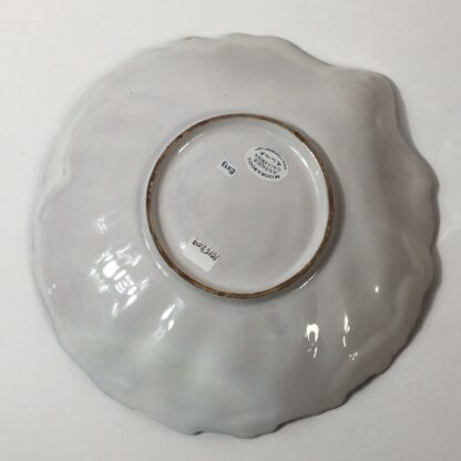 French faïence shell shape dish, attributed to Strasbourg, c. 1765 -23239