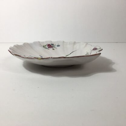 French faïence shell shape dish, attributed to Strasbourg, c. 1765 -23238