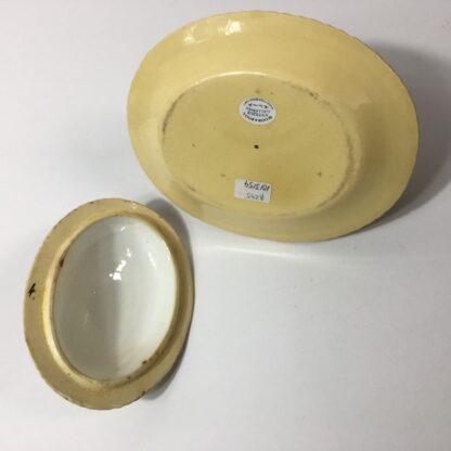 Yellow glaze pottery tureen in the English salt glaze tradition, C. 1860 -23237
