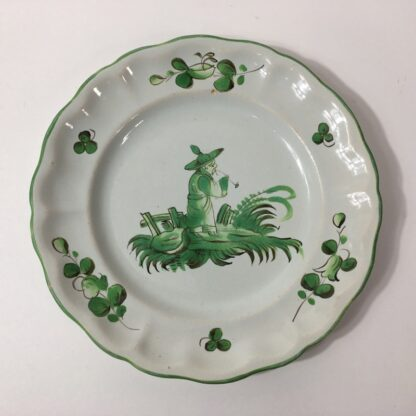 French faience plate, Les Islettes, c. 1780 -0