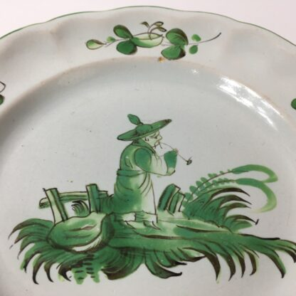 French faience plate, Les Islettes, c. 1780 -23226