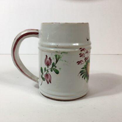 French faience mug with chinoiserie, C. 1770 -23182
