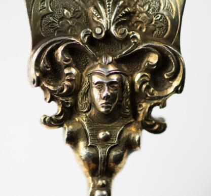 Renaissance style agate & silver gilt spoon, C. 1880 -13115
