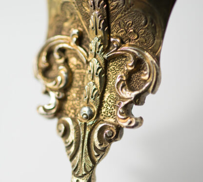 Renaissance style agate & silver gilt spoon, C. 1880 -13111