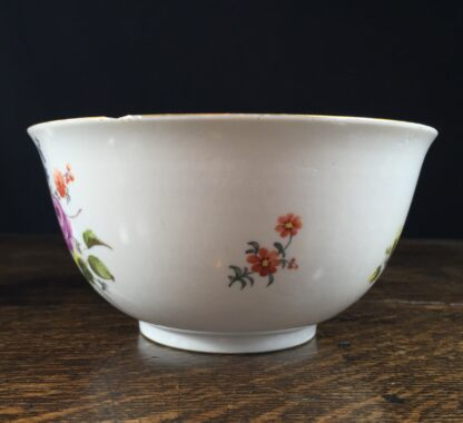 Meissen waste bowl painted with flowers, c. 1750 -11730