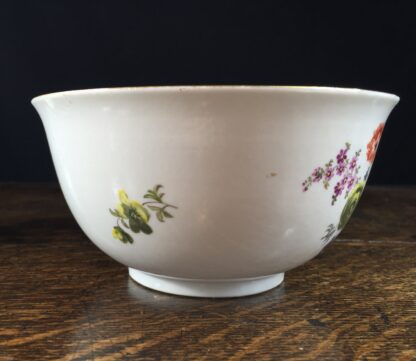 Meissen waste bowl painted with flowers, c. 1750 -11731