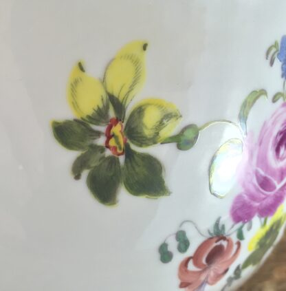 Meissen waste bowl painted with flowers, c. 1750 -11732