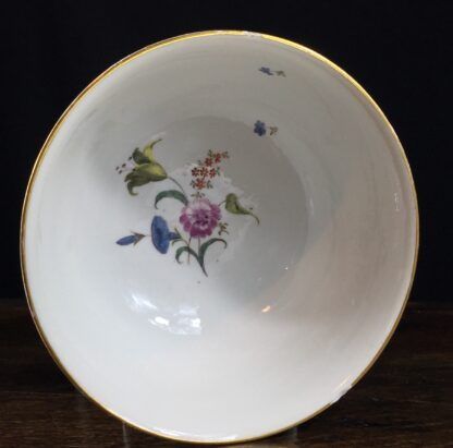 Meissen waste bowl painted with flowers, c. 1750 -11733