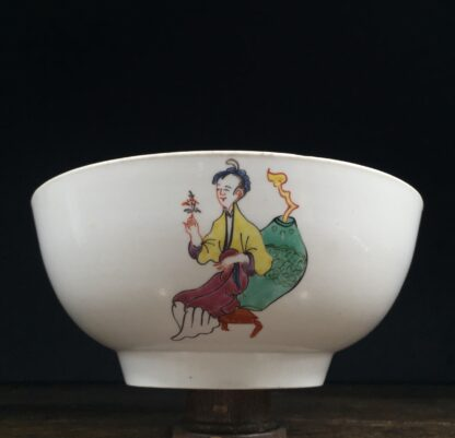Christian's Liverpool slop bowl, Chinese family pattern, 1775 -14556