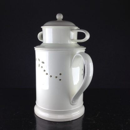 Creamware food warmer, circa 1775 -5050