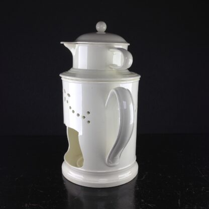 Creamware food warmer, circa 1775 -5052