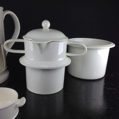 Creamware food warmer, circa 1775 -5058