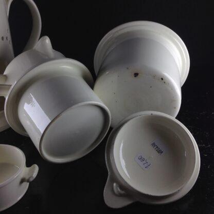Creamware food warmer, circa 1775 -5060
