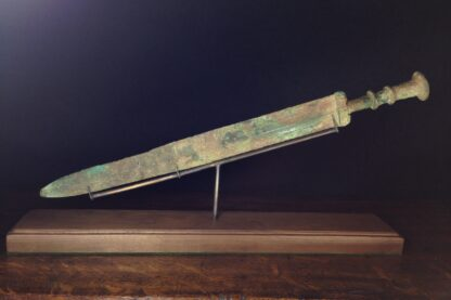 Han dynasty bronze sword, Warring States period, 403-221 BC -5077