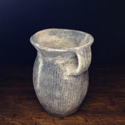 Chinese Neolithic 'cord' jar-5111