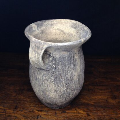 Chinese Neolithic 'cord' jar-5114