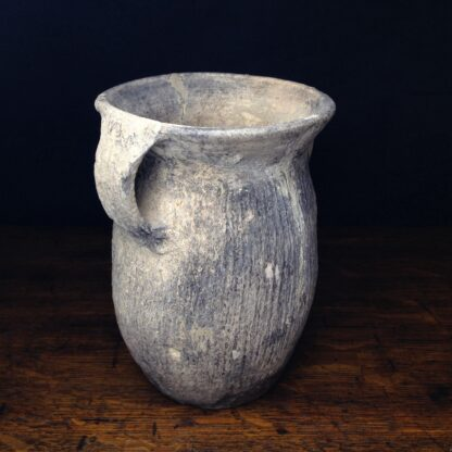 Chinese Neolithic 'cord' jar-5116