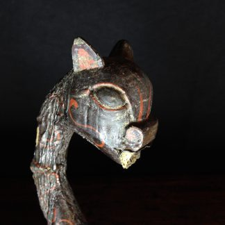 Han Dynasty wood dragon handle, 206 BC - 221 AD -0