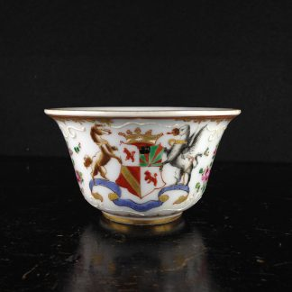 Chinese Export style armorial bowl, Samson of Paris, c.1880-0
