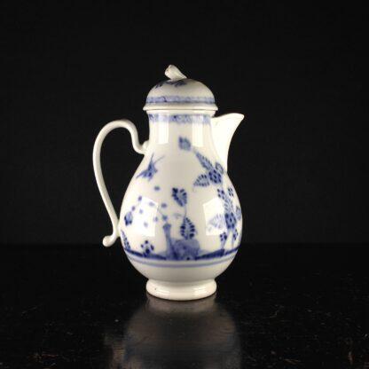 Vienna covered jug, 'fels und vogel' pattern, C. 1760 -0