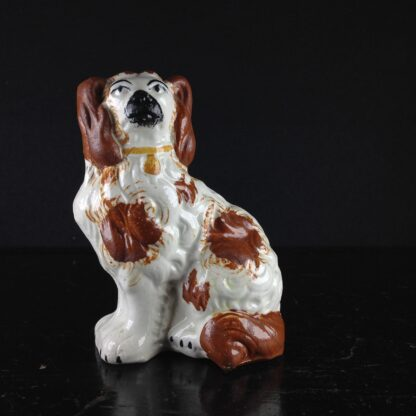 Staffordshire spaniel, small size with red coat, c. 1860 -0