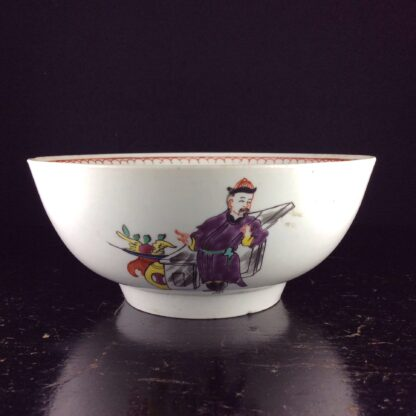 Christian's Liverpool slop bowl, Chinese family pattern, 1775 -5766