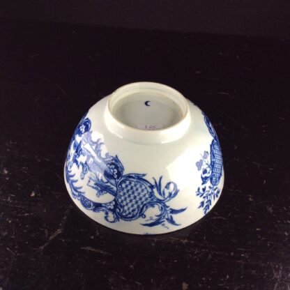 Worcester blue & white bowl, Mother and Child and Man Fishing pattern, C. 1775 -6045