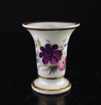 Chamberlains small vase, flowers, c.1825-0