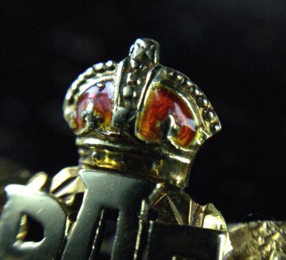 Gold RAF badge, 'sweethearts' brooch, WWII-6184