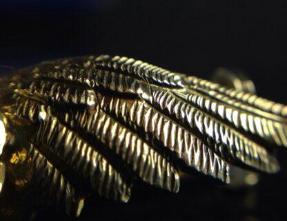 Gold RAF badge, 'sweethearts' brooch, WWII-6187