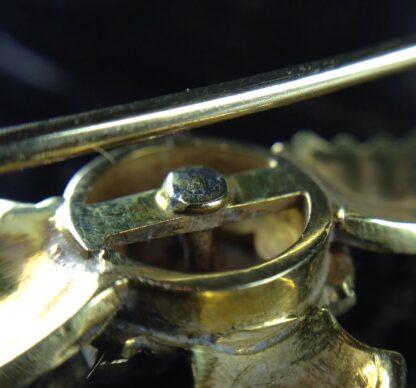 Gold RAF badge, 'sweethearts' brooch, WWII-6188