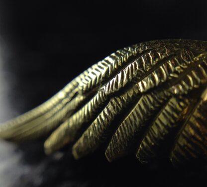 Gold RAF badge, 'sweethearts' brooch, WWII-6189