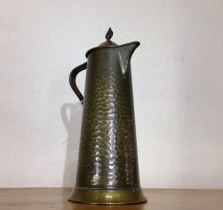 English Arts & Crafts copper jug, Joseph Sankey of Bilston, c. 1910-0