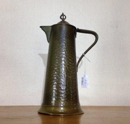 English Arts & Crafts copper jug, Joseph Sankey of Bilston, c. 1910-6655