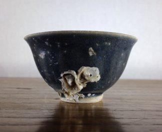 Hoi An Shipwreck: Vietnamese deep blue glaze wine cup, C. 1480-0