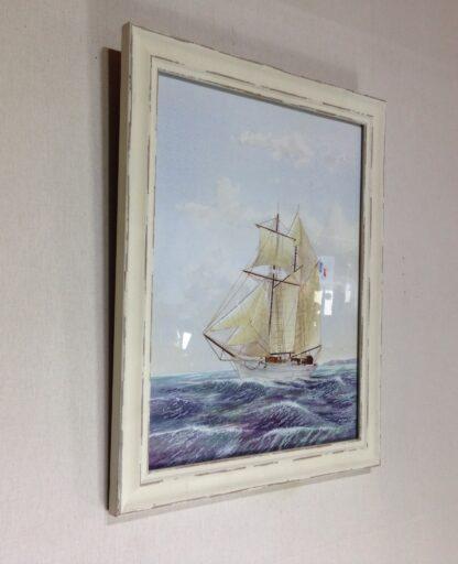 Carter,L. Original watercolour, sailing ship -6858