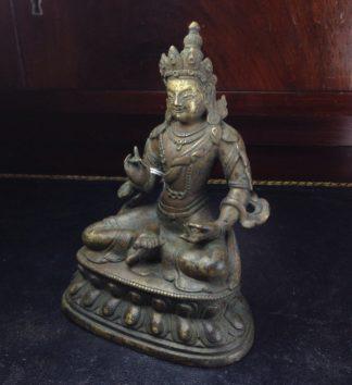 Bronze Vajradhatu Bodhisattva, Sino- Tibet, 18th century-0